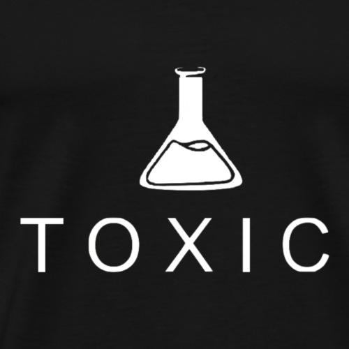 TOXIC Motiv Weiss - Männer Premium T-Shirt