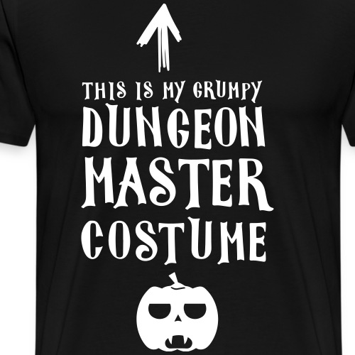 Pen and paper this is my costume - Männer Premium T-Shirt