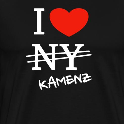 I love Kamenz - Männer Premium T-Shirt