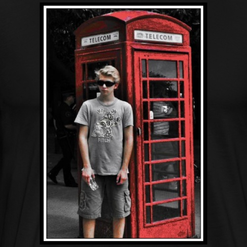 The Phone Box - Premium-T-shirt herr