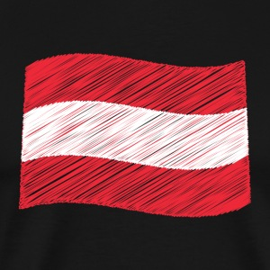 Flag of Austria - Men's Premium T-Shirt