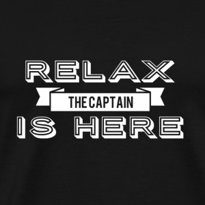 Relax captain Design - Men's Premium T-Shirt