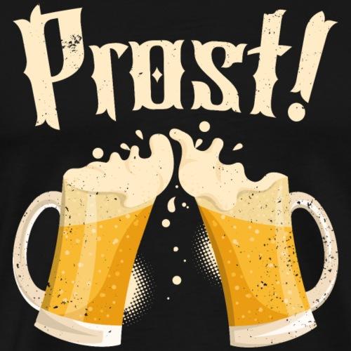 Oktoberfest - Prost Cheers in German Oktoberfest - Männer Premium T-Shirt
