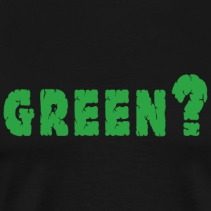 Earth Day Grön - Premium-T-shirt herr