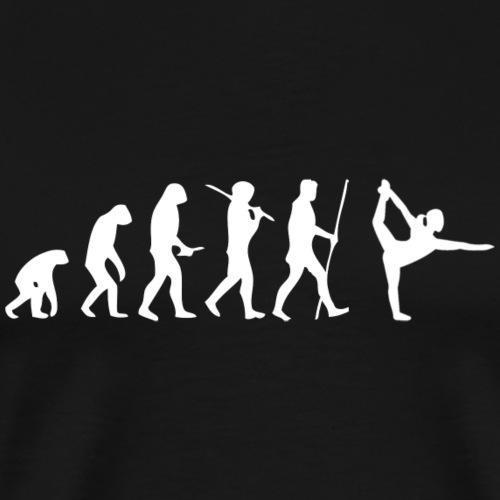 Yoga Evolution - Meditation - Buddha - ♥ - Männer Premium T-Shirt