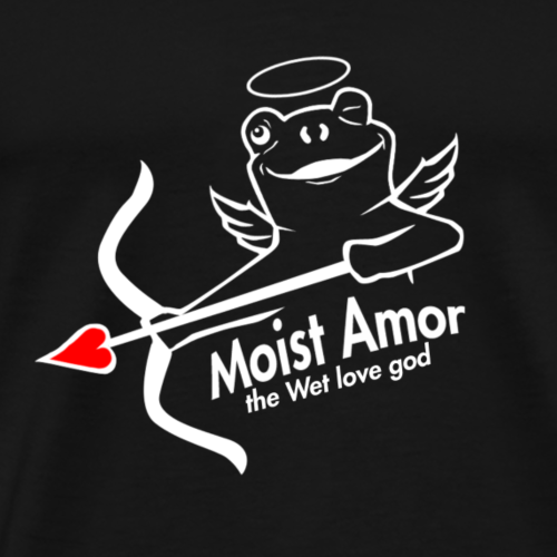 Moist Amor, the even Wetter love god - Premium-T-shirt herr