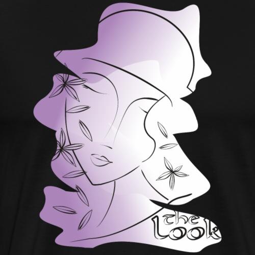 Cara 11 violeta (serie The Look) - Camiseta premium hombre