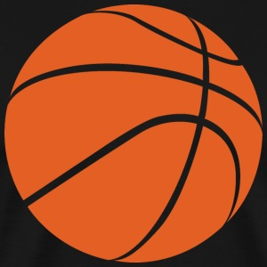 basketball Ball - Premium T-skjorte for menn