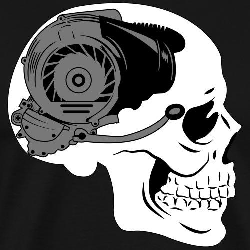 Totenkopf Motor - Männer Premium T-Shirt