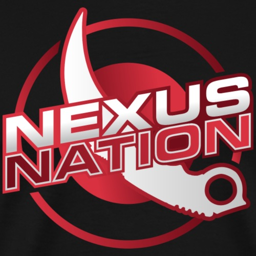 NexusNation Logo - Men's Premium T-Shirt
