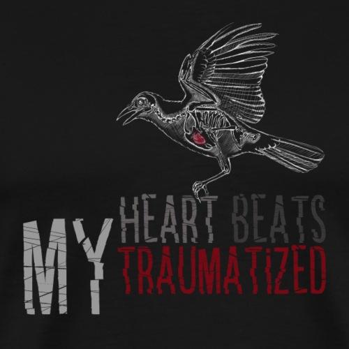 My Heart Beats Traumatized 3 - Männer Premium T-Shirt