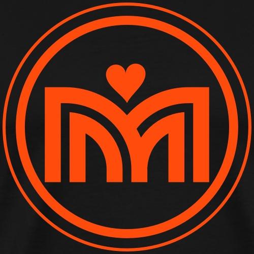 MattenLiebeYoga Icon - Männer Premium T-Shirt