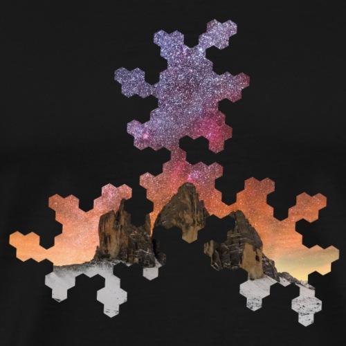 strartrails x points and edges R13-6 - Männer Premium T-Shirt