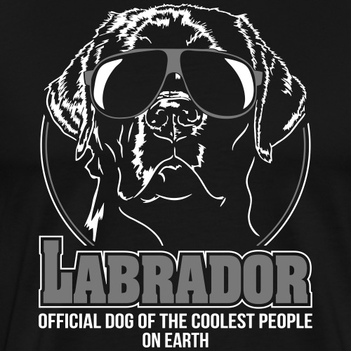 LABRADOR coolest people on earth - Männer Premium T-Shirt