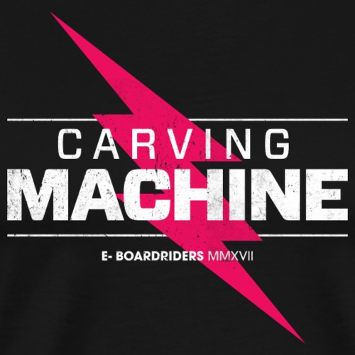 Carving Machine - Männer Premium T-Shirt