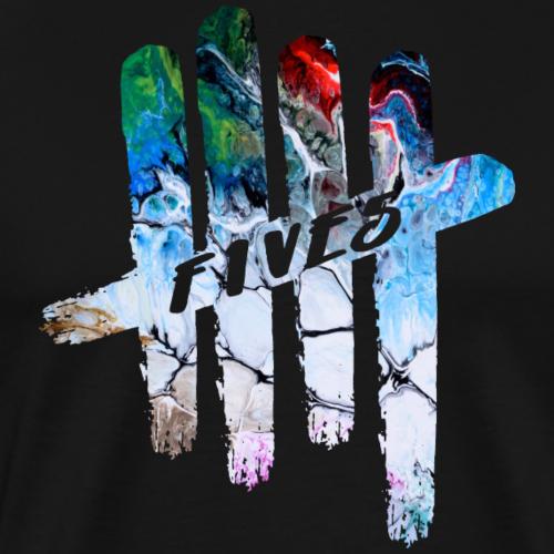 FIVES abstarct - T-shirt Premium Homme