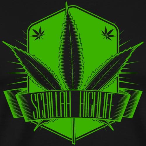 Schillah - Highlife Grün 02 - Männer Premium T-Shirt