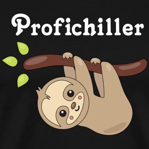 Faultier Profichiller - Männer Premium T-Shirt