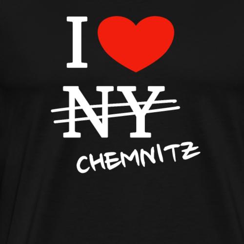I love Chemnitz - Männer Premium T-Shirt