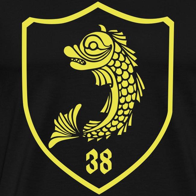 grenoble, dauphin blason 38
