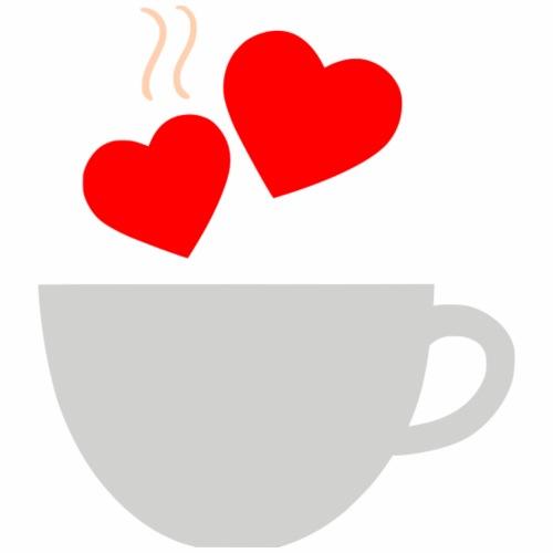Tea love - Men's Premium T-Shirt