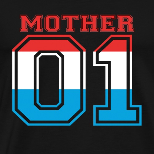 MUTTER MAMA 01 MOTHER QUEEN Luxemburg - Männer Premium T-Shirt