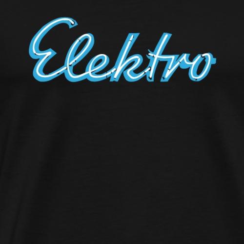 Elektro - Männer Premium T-Shirt