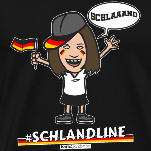 HARIZ.PIXBROS #Schlandline - Männer Premium T-Shirt