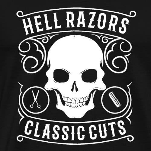 HellRazors - Camiseta premium hombre