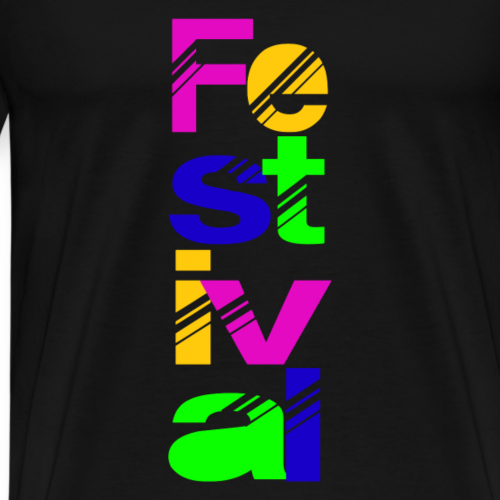 Festival - Mannen Premium T-shirt