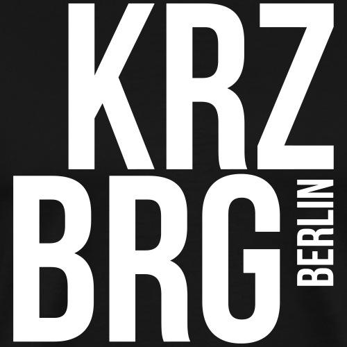 KREUZBERG BERLIN - Männer Premium T-Shirt