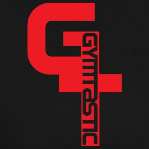 GT - Gymtastic - vertikal - rot - Brust rechts - Männer Premium T-Shirt