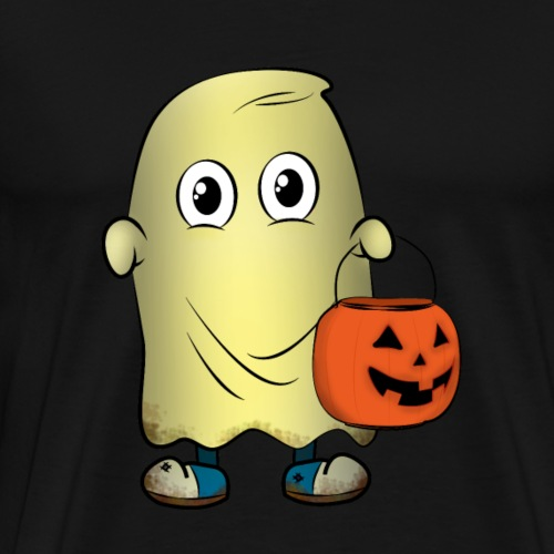 ghost trick or treating - Mannen Premium T-shirt