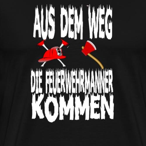 Feuerwehrmaenner - Männer Premium T-Shirt