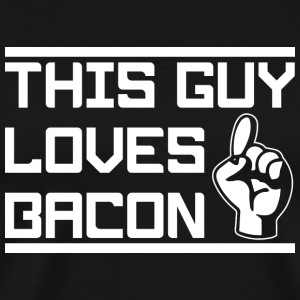 Bacon Bacon Funny - Men's Premium T-Shirt