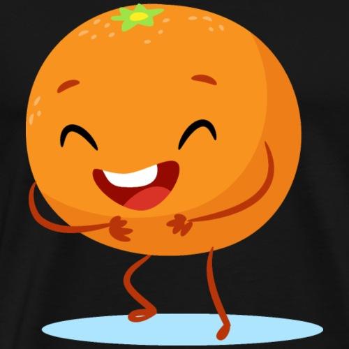 Fruit Orange - Männer Premium T-Shirt