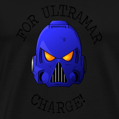 Ultramarine Helmet - Men's Premium T-Shirt