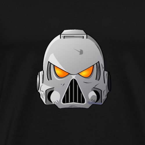 Space Wolves Space Marine Helmet - Men's Premium T-Shirt