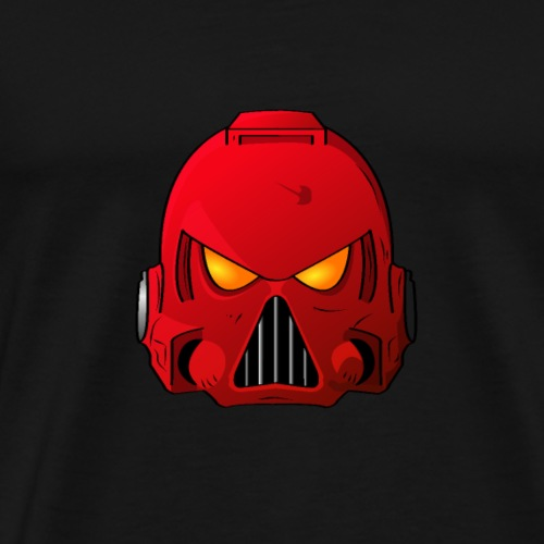 Blood Angels Space Marine Helmet - Men's Premium T-Shirt