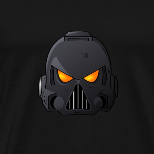Raven Claw Space Marine Helmet - Men's Premium T-Shirt