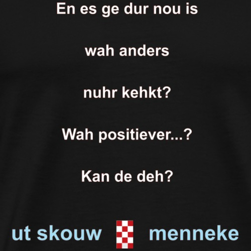 Anders kehke-w - Mannen Premium T-shirt