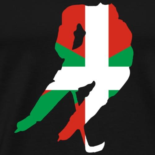 hockeyeur et basque - T-shirt Premium Homme