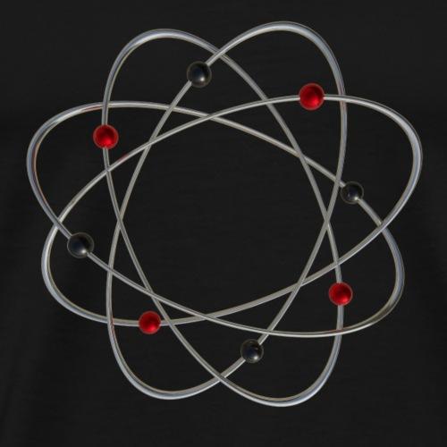 Atom - Männer Premium T-Shirt