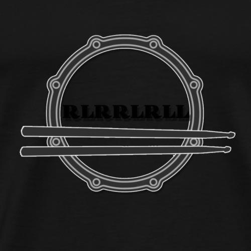 Paradiddle - Männer Premium T-Shirt