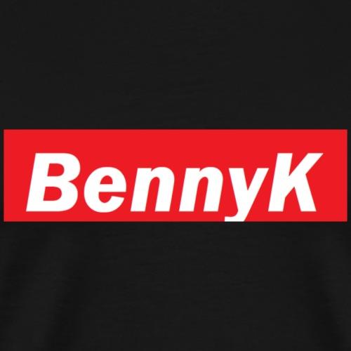 bennyK - Premium T-skjorte for menn