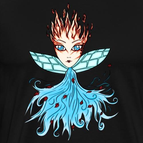 Ild-fe-vind - Premium T-skjorte for menn