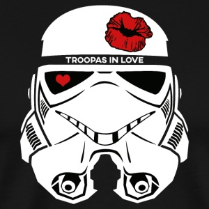 Stromtrooper in LOVE - Smiling Troopa - Men's Premium T-Shirt