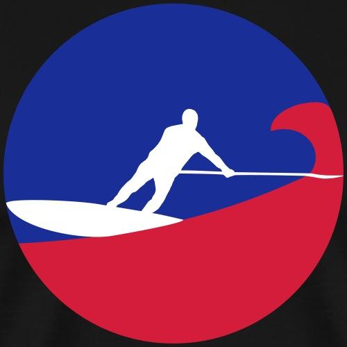 sup surfing - Männer Premium T-Shirt