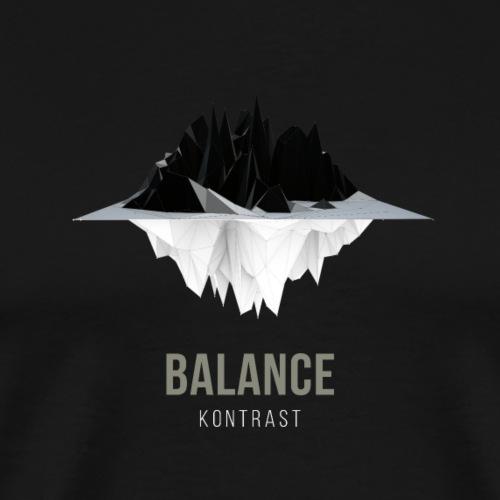 Balance - Männer Premium T-Shirt