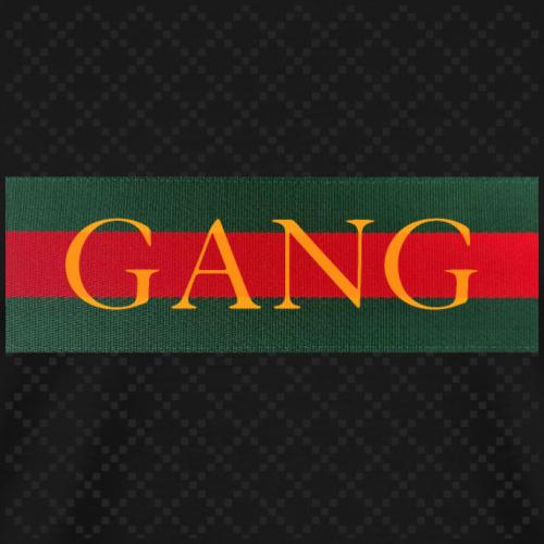 GANG - Luxus Muster - rot grün gold - Männer Premium T-Shirt